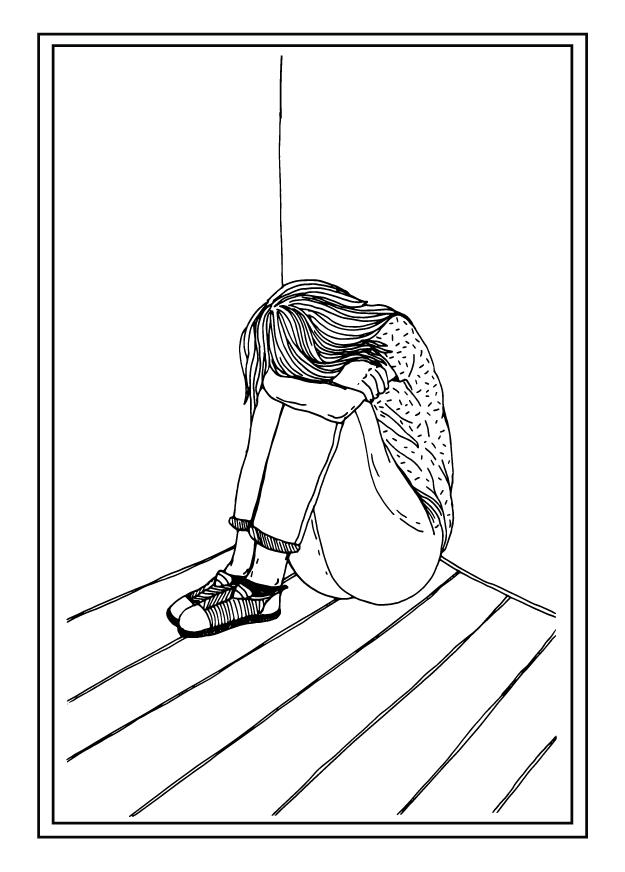 Utrzymujący się smutek